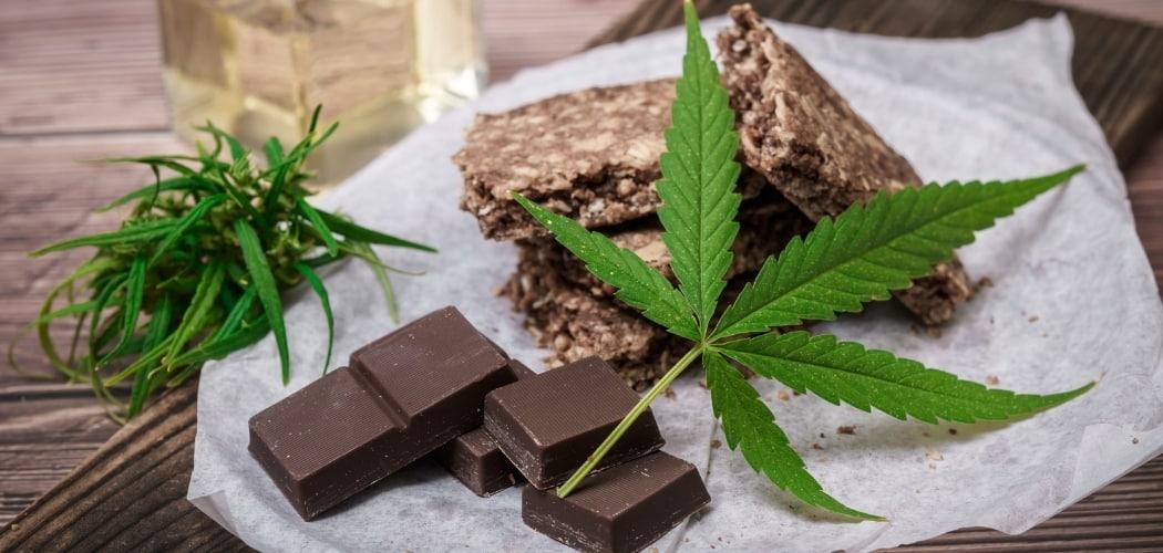 barres chocolatées au CBD