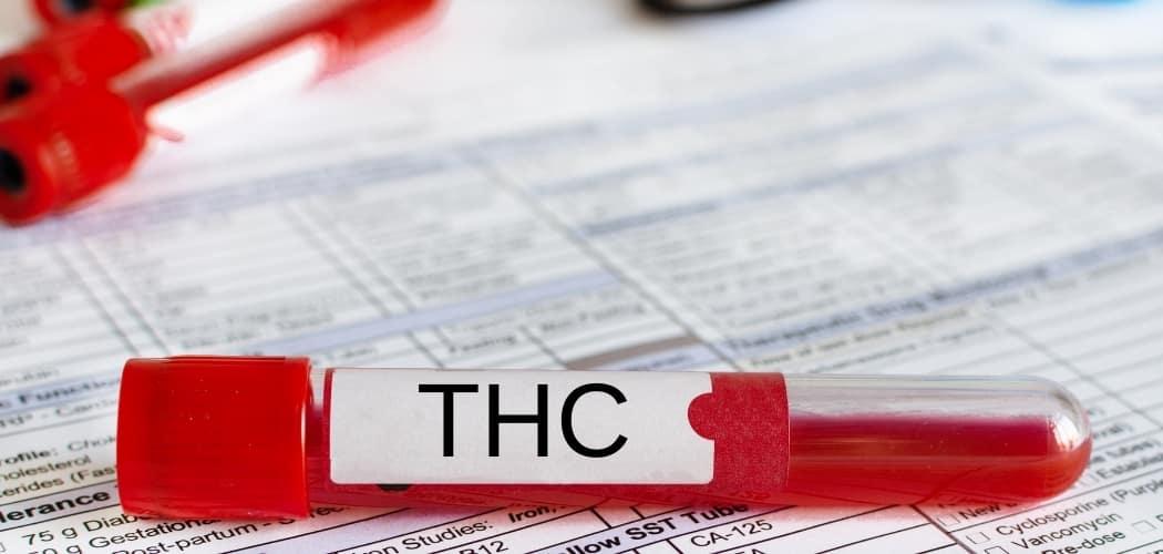 THC dans le sang