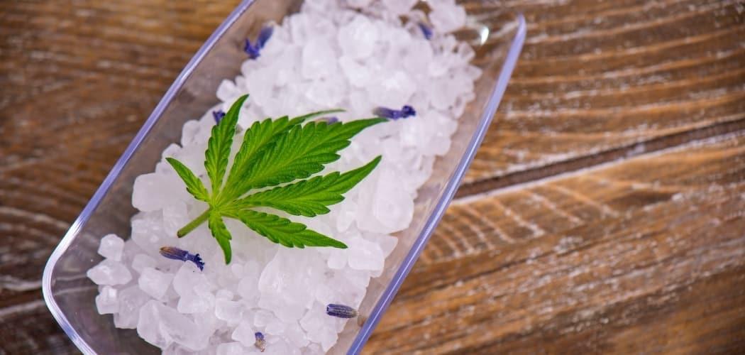 Faire du sel infusé au CBD